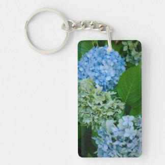 Hydrangea Flowers Key Ring