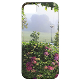 Hydrangea garden in the mist, Arzua, Spain 2 Barely There iPhone 5 Case