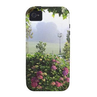 Hydrangea garden in the mist, Arzua, Spain 2 Vibe iPhone 4 Cases