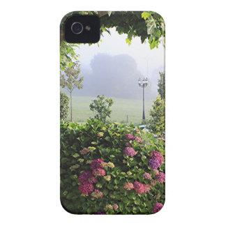 Hydrangea garden in the mist, Arzua, Spain 2 Case-Mate iPhone 4 Case
