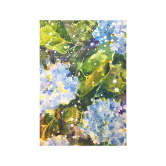 Hydrangea Heaven Canvas Print