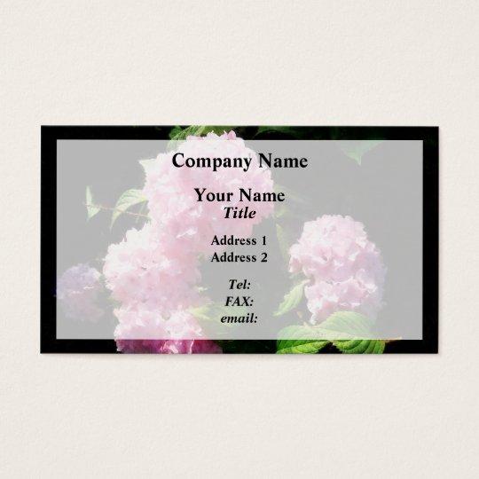 Hydrangea in Sunshine Business Card