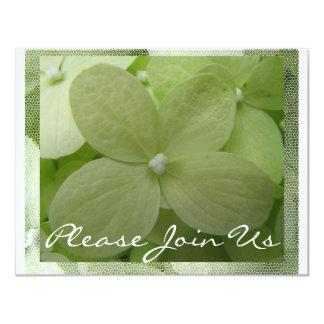Hydrangea 11 Cm X 14 Cm Invitation Card