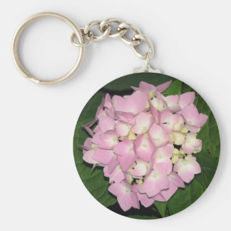 Hydrangea Key Ring