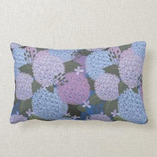 Hydrangea Lumbar Cushion