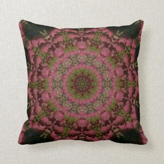 Hydrangea Mandala Mauve Cushion