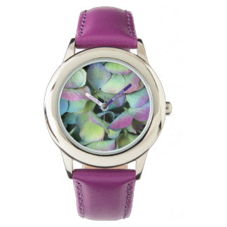HYDRANGEA  Multi-color petals --- Wrist Watch