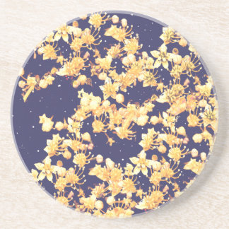 hydrangea night and gold coaster