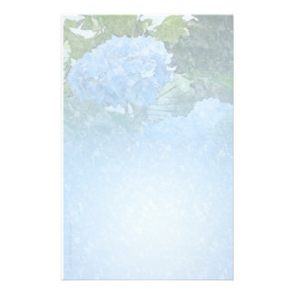 Hydrangea Pale Blue Stationery