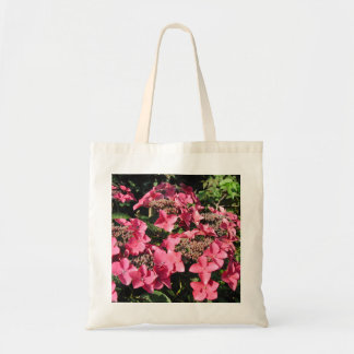 Hydrangea. Pink Flowers. Tote Bag