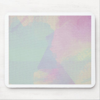 Hydrangea Series Watercolor Abstract Opal Mouse Pad