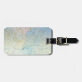Hydrangea Series Watercolor Botanical Print II Luggage Tag