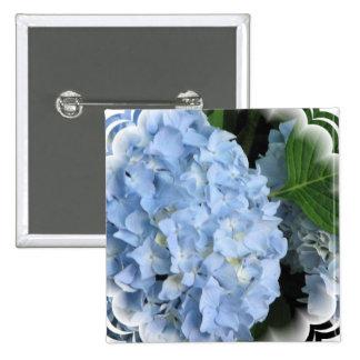 Hydrangea Summer Beauty Square Pin