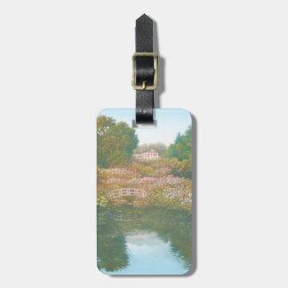 Hydrangea Valley, Trebah Gardens Luggage Tag