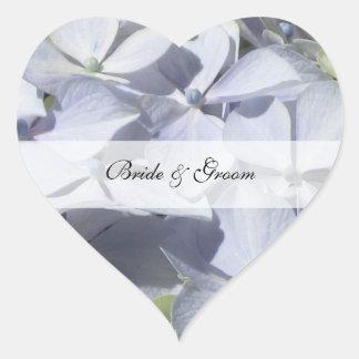 Hydrangea Wedding Stickers