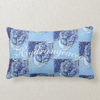Hydrangeaceae Lumbar Cushion