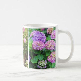 Hydrangeas and Lily Coffee Mug