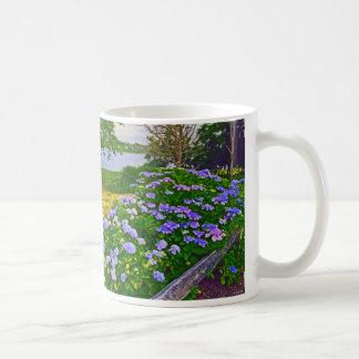 Hydrangeas at Orleans Coffee Mug