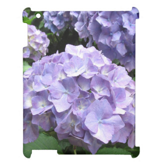 Hydrangeas at Trebah Gardens, Cornwall iPad Case