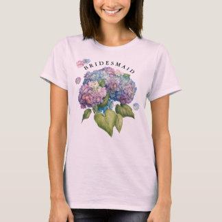 Hydrangeas Bridesmaid T-Shirt