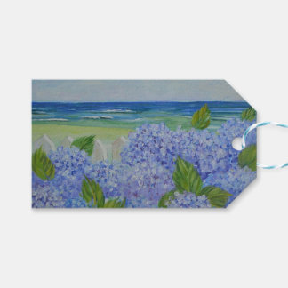 Hydrangeas By The Sea Gift Tags