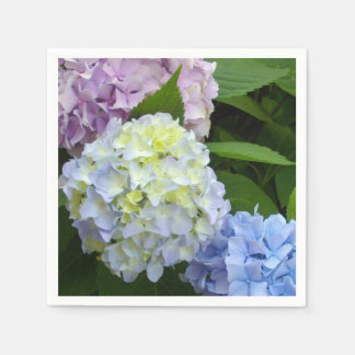 Hydrangeas Disposable Serviette