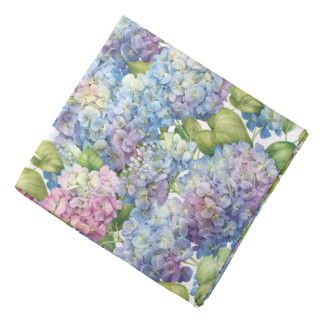 Hydrangeas in Bloom Bandana