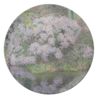 Hydrangeas on the banks of the River Lys, 1898 (oi Party Plates
