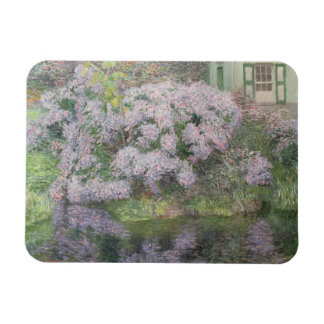 Hydrangeas on the banks of the River Lys, 1898 (oi Rectangular Photo Magnet