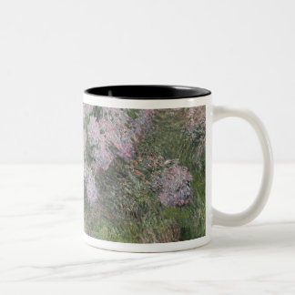 Hydrangeas on the banks of the River Lys, 1898 (oi Two-Tone Coffee Mug