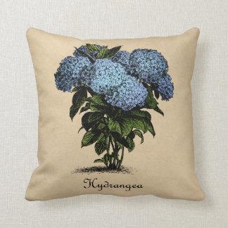 Hydrangeas Vintage Botanical Cushion