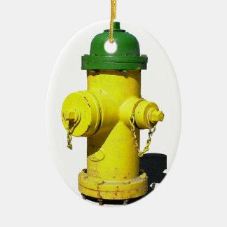 Hydrant Christmas Ornament