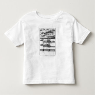 Hydraulic, canal and locks toddler T-Shirt