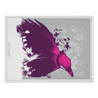 Hydro74 Bird Print