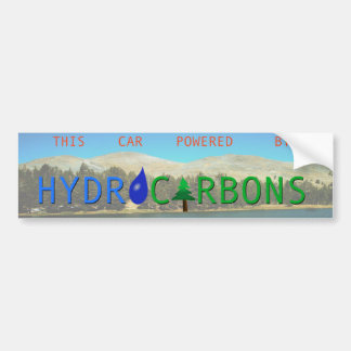 Hydrocarbons Bumper Sticker