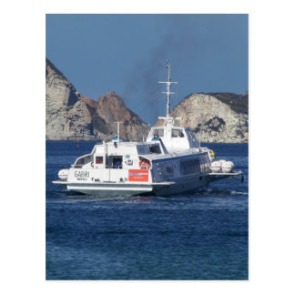 Hydrofoil In Italy Postcard