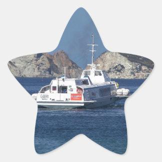 Hydrofoil In Italy Star Sticker
