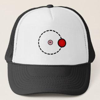 Hydrogen Atom Trucker Hat