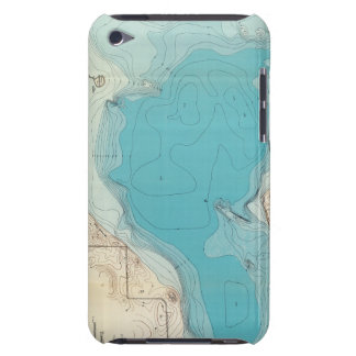 Hydrographic map Lake Mendota iPod Touch Cover