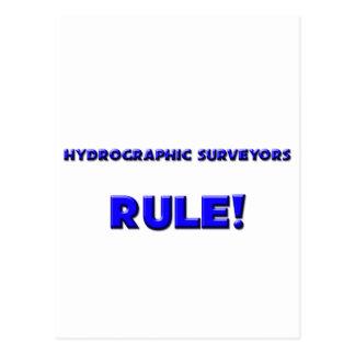 Hydrographic Surveyors Rule! Postcard