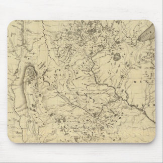 Hydrographical Basin of Mississippi River Mouse Mat