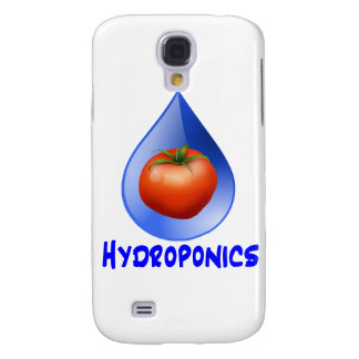 Hydroponic Tomato water drop design logo Galaxy S4 Case