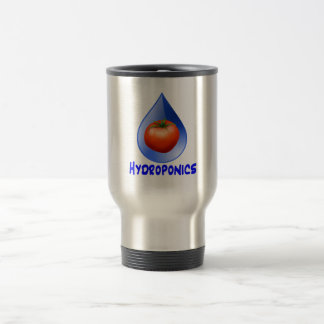 Hydroponic Tomato water drop design logo Coffee Mug