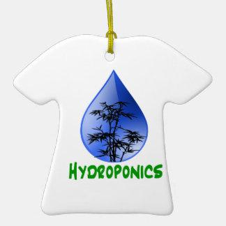 Hydroponics design-black bamboo ceramic T-Shirt decoration