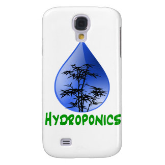 Hydroponics design-black bamboo galaxy s4 case