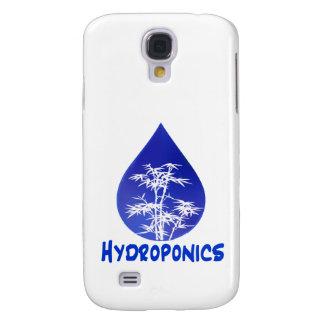 Hydroponics design , blue drop and white tree galaxy s4 case