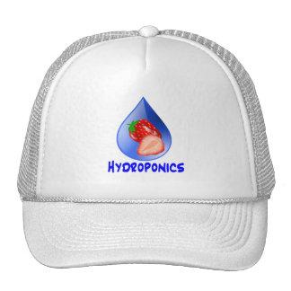 Hydroponics Design with strawberry Blue drop Mesh Hat