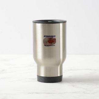 Hydroponics Fun Cascabel Hot Peppers Hand Coffee Mug