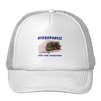 Hydroponics Fun Chocolate Habanero Peppers Hat