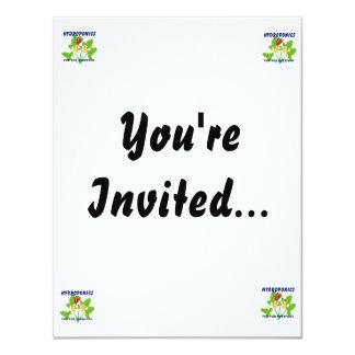 "Hydroponics Fun For Everyone Strawberries 4.25"" X 5.5"" Invitation Card"